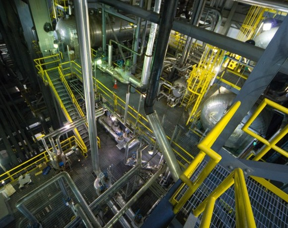 The secret of steam: Reporter shares impressions of a steam plant