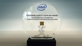 Veolia North America one of 19 companies receiving Intel Corporation's Preferred Quality Supplier award