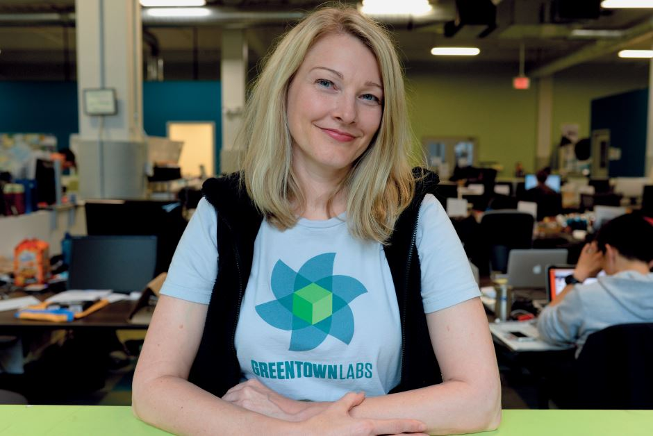 Emily Reichert of Greentown Labs