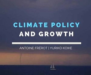 Is an ambitious climate policy compatible with growth?